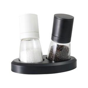 Zestaw młynków do soli i pieprzu Vialli Design Black&White