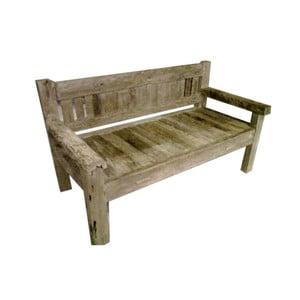 Ławka z drewna tekowego HSM Collection Bea