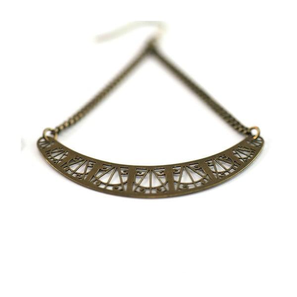 Kolczyki Arch Bronze, 6 cm