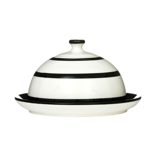 Czarno-biała maselniczka Premier Housewares