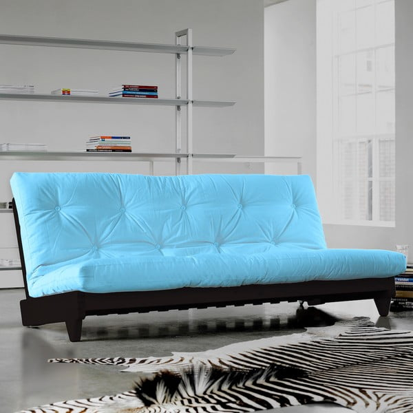 Sofa rozkładana Karup Fresh Wenge/Celeste