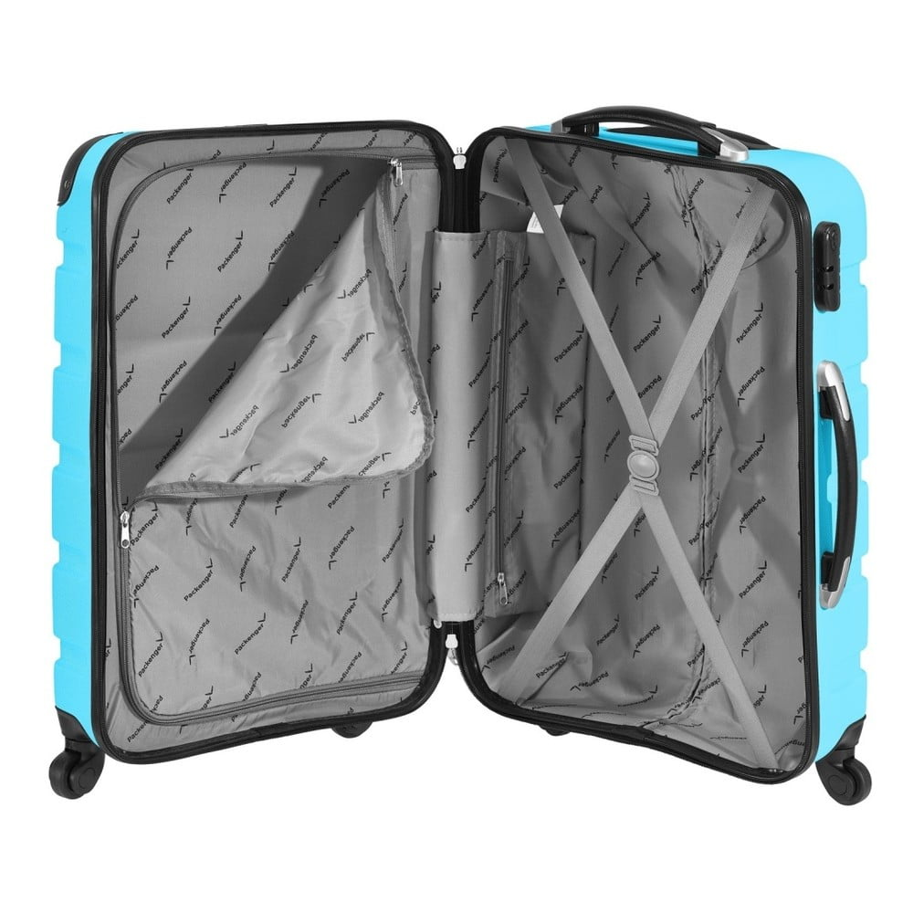 75c6256b8fa5d Niebieska walizka podróżna Packenger Mariana, 101 l   Bonami