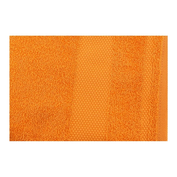 Zestaw 2 jasnopomarańczowych ręczników Clio