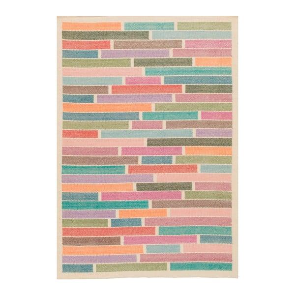Dywan wełniany tkany ręcznie Rubina White, 170x240 cm