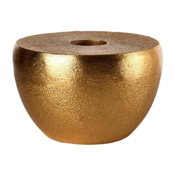 Świecznik w kolorze mosiądzu pols potten Discus, ⌀ 8 cm