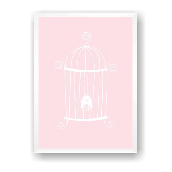 Plakat Nord & Co Caged Bird, 21 x 29 cm