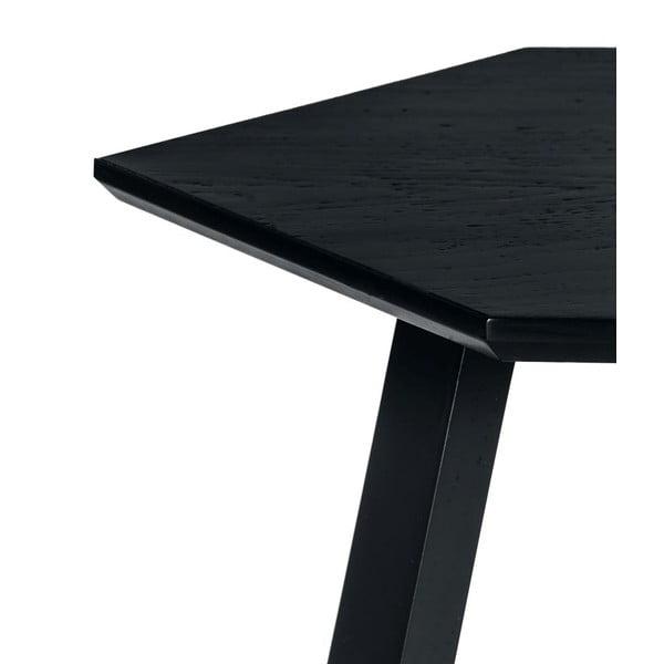 Stolik Hexagon Dark Grey, 70x37x70 cm