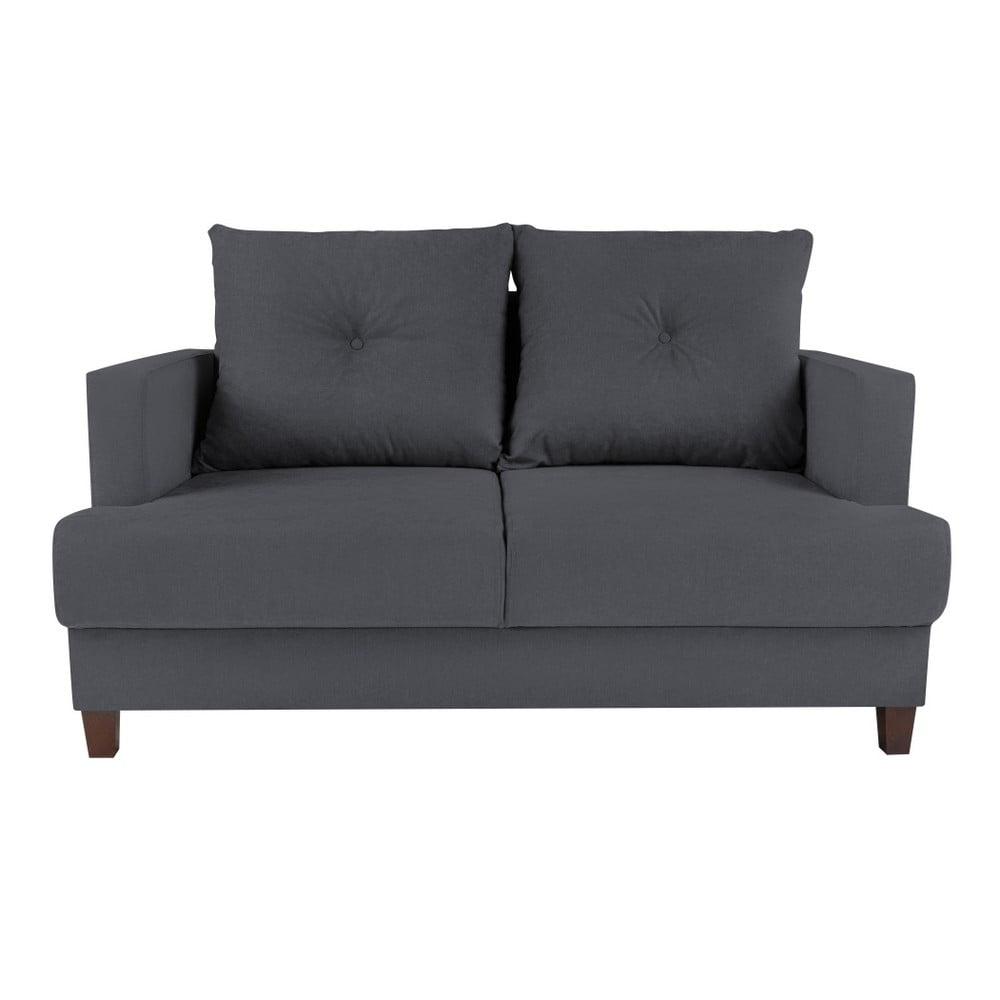 Ciemnoszara sofa 2-osobowa Melart Lorenzo