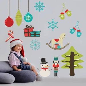Naklejka ścienna Boże Narodzenie, 90x60 cm