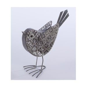 Metalowy ptaszek dekoracyjny Bird, 23 cm
