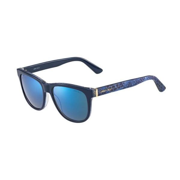 Okulary przeciwsłoneczne Jimmy Choo Rebby Python/Blue