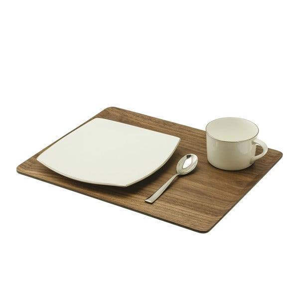 Taca Breakfast 36x28 cm, ciemna
