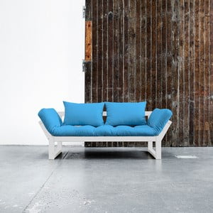 Sofa Karup Edge White/Horizon Blue