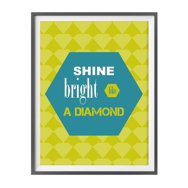 Plakat muzyczny Shine Bright Like A Diamond
