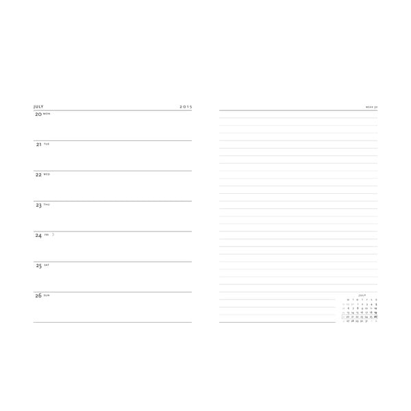 Organizer 2015 Safavid 18x23 cm