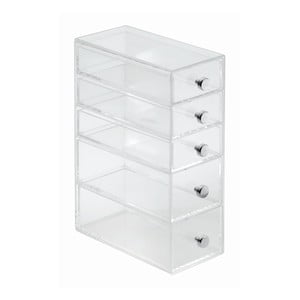 Organizer InterDesign 5 Drawer Tower, 9x18 cm