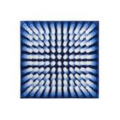 Dywanik łazienkowy Kolor My World VII 90x90 cm, niebieski