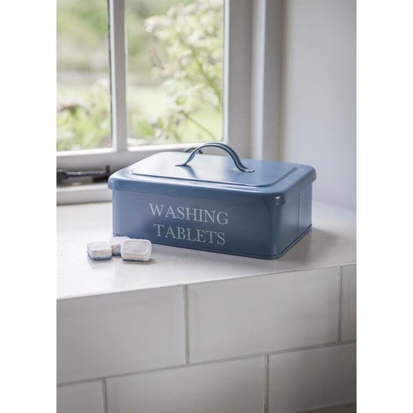 Pojemnik na kapsułki do prania Washing Tablet, niebieski