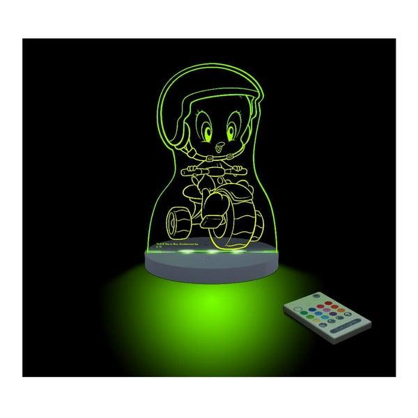 Dziecięca lampka nocna LED Aloka Tweety Moto