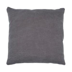 Antracytowa poduszka Walra Lunt, 45x45cm