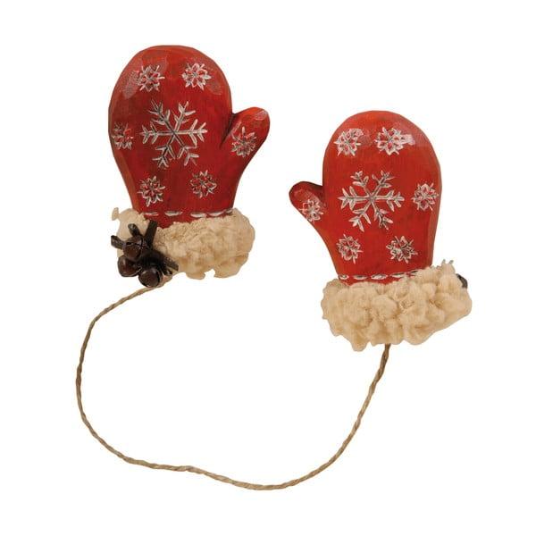 Dekoracyjne rękawiczki Red Mitten