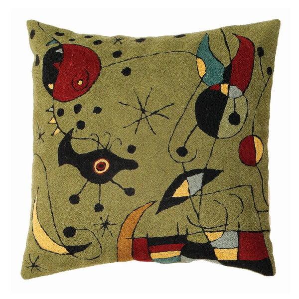 Poszewka na poduszkę Miro Green, 45x45 cm