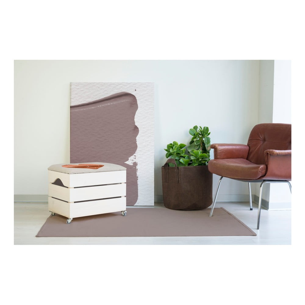 bia y sto ek ze schowkiem really nice things heart 50x35 cm bonami. Black Bedroom Furniture Sets. Home Design Ideas
