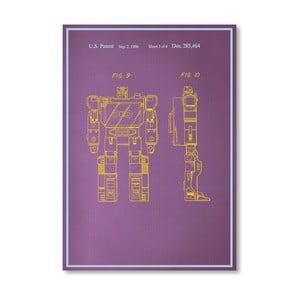 Plakat Movie Character, 30x42 cm