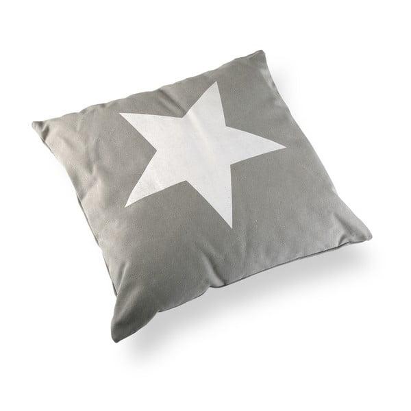 Poduszka Grey&White Stars, 45x45 cm