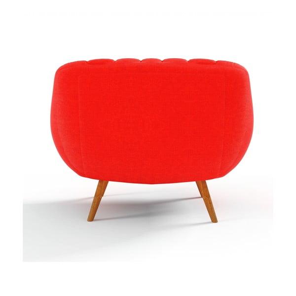 Pomarańczowy   fotel Wintech Azzurre