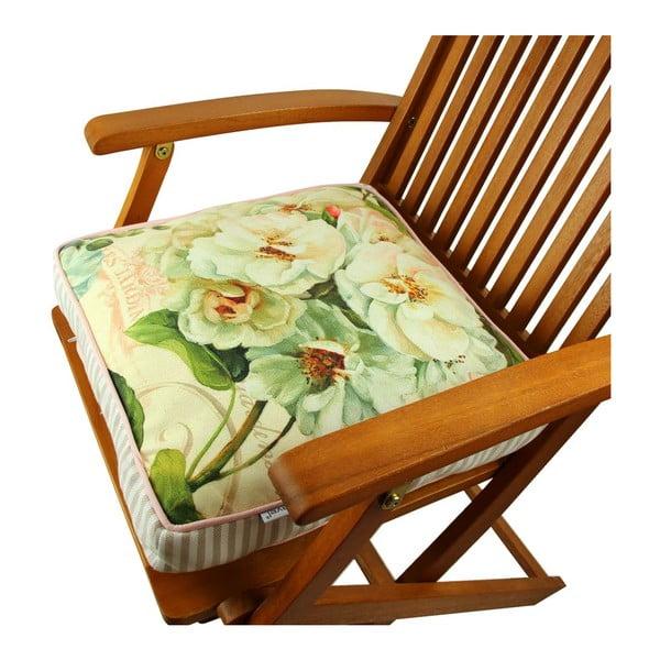Poduszka na krzesło z wypełnieniem Vienna, 42x42 cm