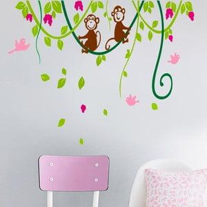 Naklejka ścienna Małpka, 60x90 cm