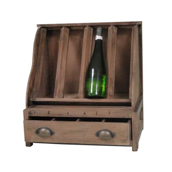 Stojak drewniany na wino Antic Line Wooden
