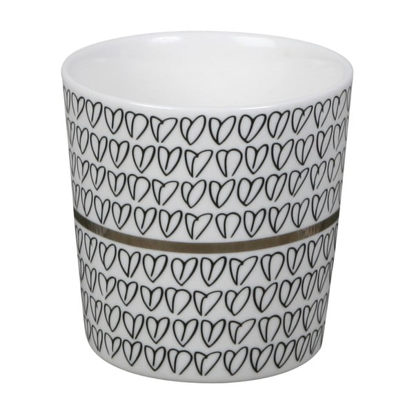Kubek Heart Mug Silver
