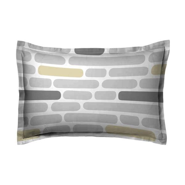 Poszewka na poduszkę Wall Grey, 70x90 cm