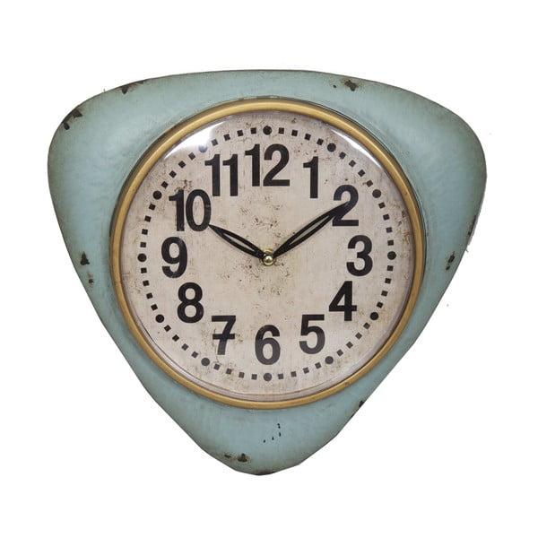 Niebieski zegar ścienny Antic Line Blue Vintage