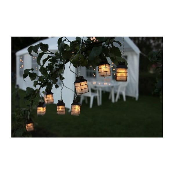 Girlanda świetlna Houses 270 cm, zielona