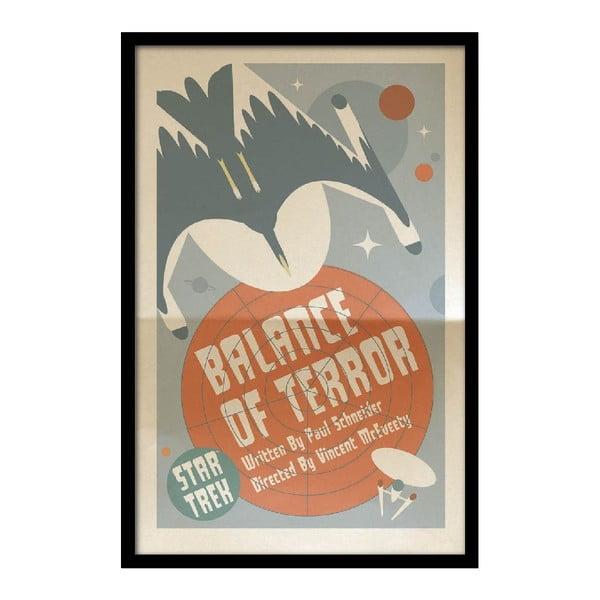 Plakat Balance of Terror, 35x30 cm