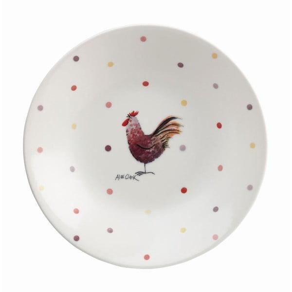 Głęboki talerz Alex Clark Rooster, 20 cm