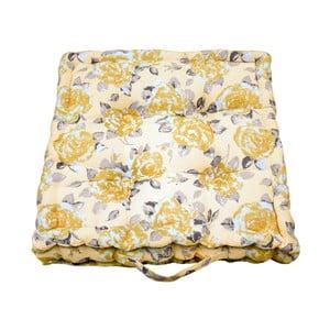 Żółta poduszka ogrodowa Ragged Rose Jess