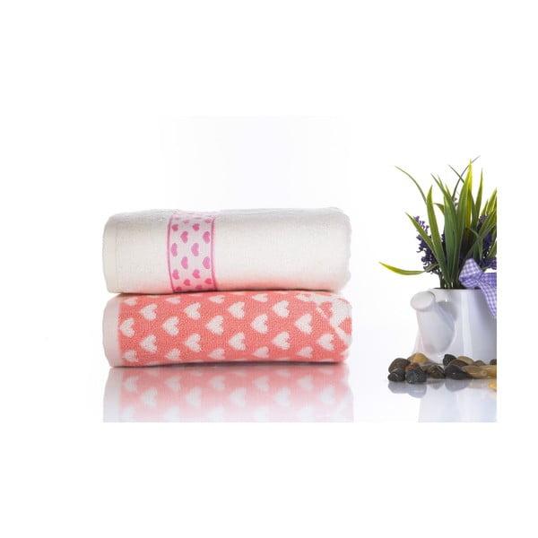 Zestaw 2 ręczników Danny V2, 50x90 cm