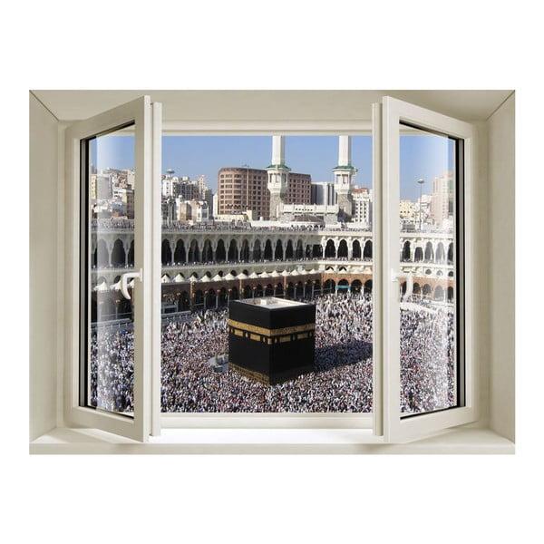 Naklejka 3D Fenêtre La Mecque