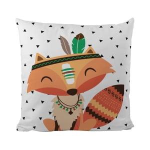 Poduszka Mr. Little Fox Indian Fox, 50x50cm