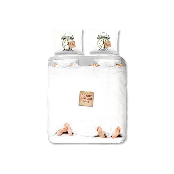 Pościel White Bed, 240x200 cm, zapięcie na zakładkę