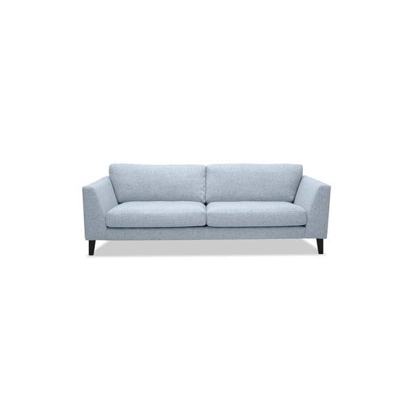 Srebrna sofa trzyosobowa Vivonita Monroe