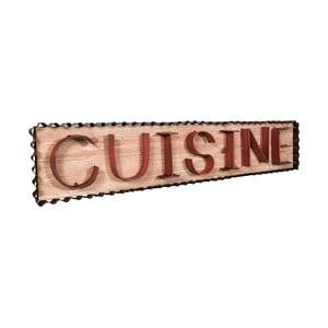 Dekoracyjna tabliczka wisząca Antic Line Cuisine Red
