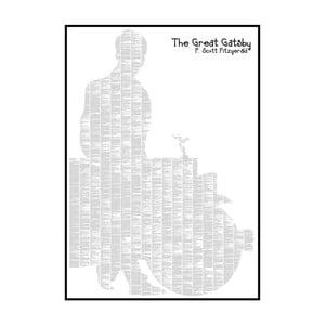 """Plakat """"Wielki Gatsby"""", 70x100 cm"""
