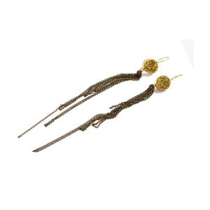 Kolczyki Inda, 17 cm