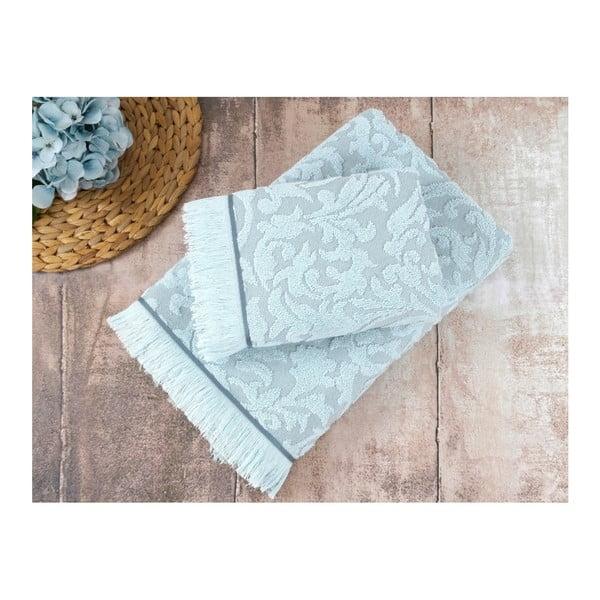 Niebieski ręcznik Irya Home Royal, 90x150 cm