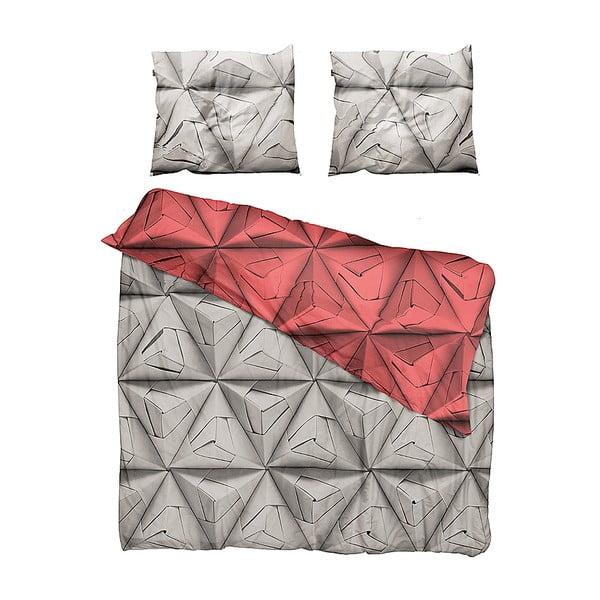 Pościel Monogami Red 200x220 cm